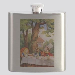 The Mad Tea Party Flask