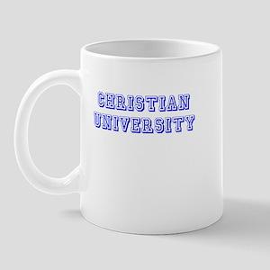 Christian University Mug