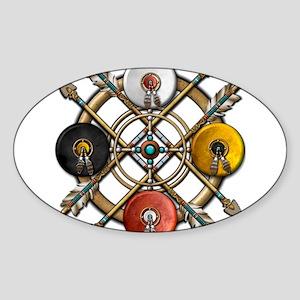 Medicine Wheel Mandala Sticker