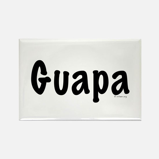 Guapa Rectangle Magnet