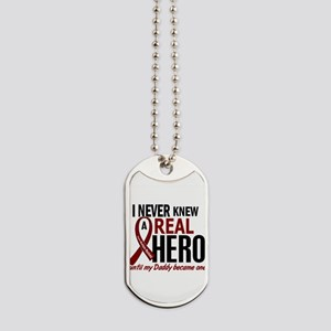 Multiple Myeloma Real Hero 2 Dog Tags