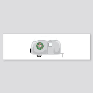 Christmas Trailer Bumper Sticker