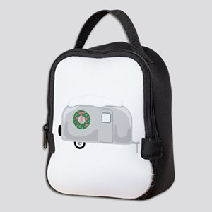 Christmas Trailer Neoprene Lunch Bag