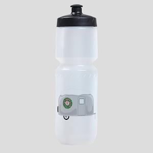 Christmas Trailer Sports Bottle