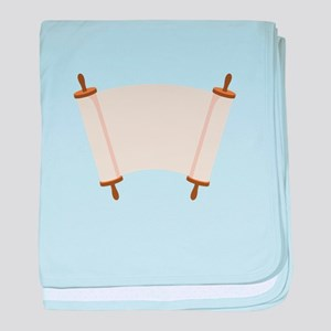 Blank Torah baby blanket