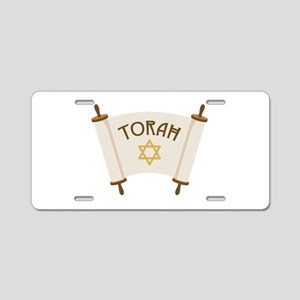 TORAH * Aluminum License Plate