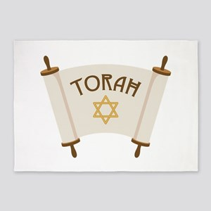 TORAH * 5'x7'Area Rug