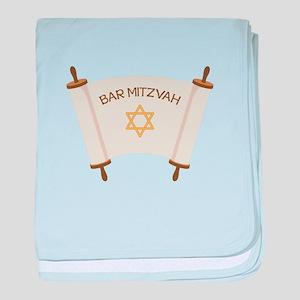 BAR MITZVAH baby blanket