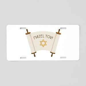MAZEL TOV! Aluminum License Plate