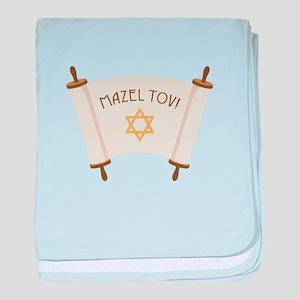 MAZEL TOV! baby blanket