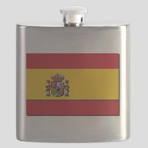 Spain Flag Flask