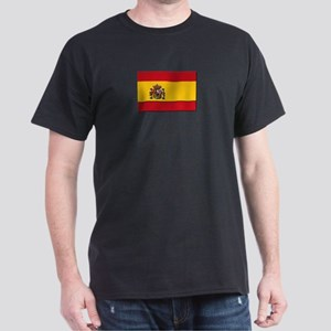 Spain Flag Dark T-Shirt