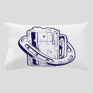 Beer & Luck Pillow Case