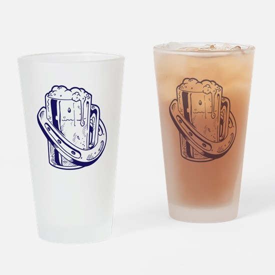 Beer & Luck Drinking Glass