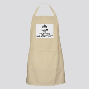 Keep Calm and Trust the Fashion Stylist Apron