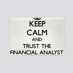 Keep Calm and Trust the Financial Analyst Magnets