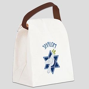 SHALOM Canvas Lunch Bag
