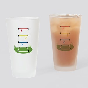 Backyard Game Drinking Glass