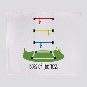 Boss of the Toss Throw Blanket