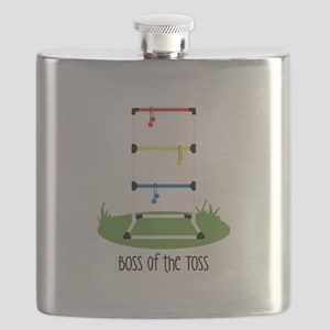 Boss of the Toss Flask