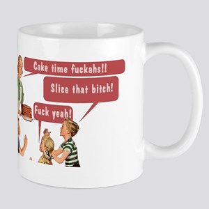 Cake Time Fun Mugs