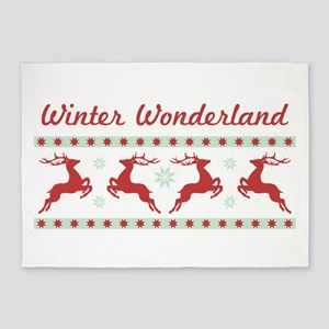 Winter Wonderland 5'x7'Area Rug