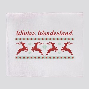 Winter Wonderland Throw Blanket