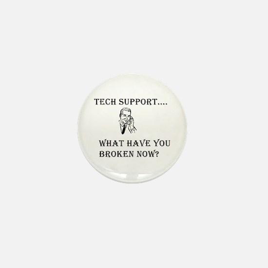 Tech Support Mini Button