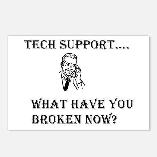 Tech Support Postcards (Package of 8)