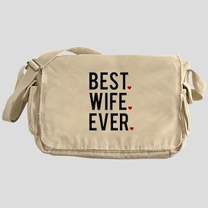 Best wife ever Messenger Bag