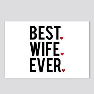 Best wife ever Postcards (Package of 8)