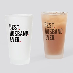 Best husband ever Drinking Glass