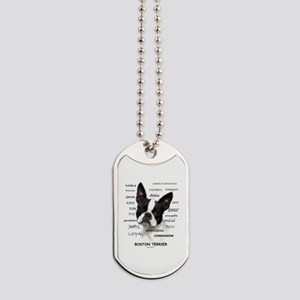 A Boston Terrier is: Dog Tags