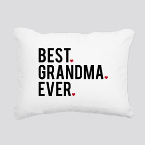Best grandma ever Rectangular Canvas Pillow