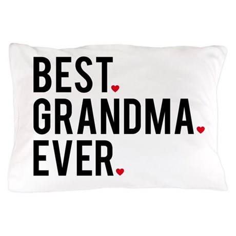 Best Grandma Ever Pillow Case By Illustree