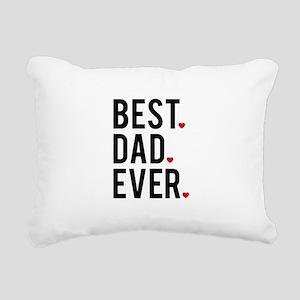 Best dad ever Rectangular Canvas Pillow