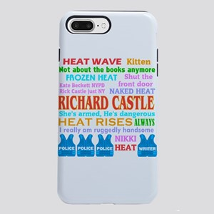 Richard Castle Funny Quotes iPhone 7 Plus Tough Ca