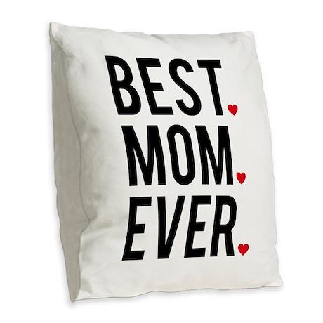 Burlap Initial Pillow, Monogram Throw
