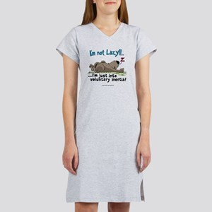 Lazy Wombat  Women's Nightshirt