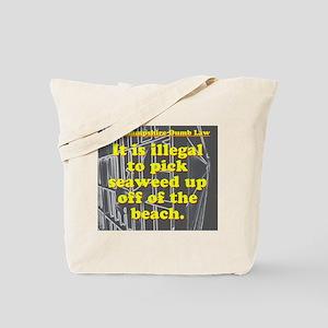 New Hampshire Dumb Law 003 Tote Bag