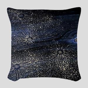 Cancer Constellation Woven Throw Pillow