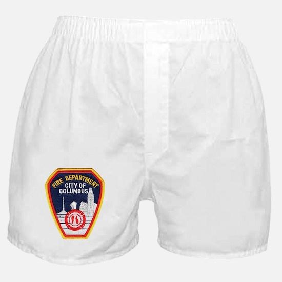 Columbus Fire Department Boxer Shorts