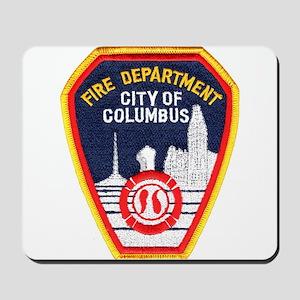 Columbus Fire Department Mousepad