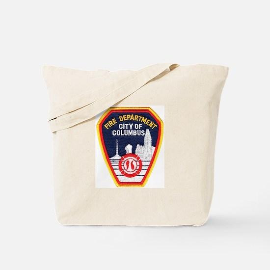 Columbus Fire Department Tote Bag