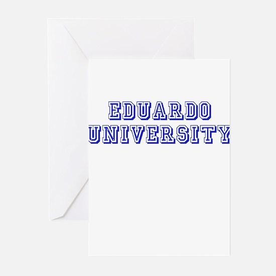 Eduardo University Greeting Cards (Pk of 10)