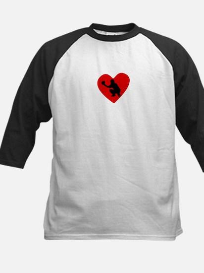 Baseball Catcher Heart Baseball Jersey