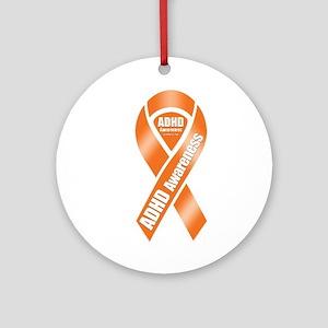 ADHD Awareness Ornament (Round)