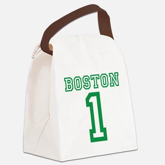 BOSTON #1 Canvas Lunch Bag