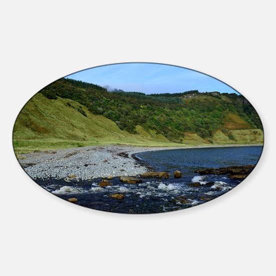 Isle of Skye at Bearreraig Bay Sticker (Oval)