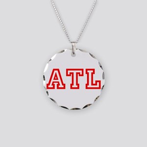 ATL - ATLANTA Necklace Circle Charm